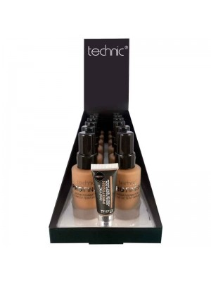 Wholesale Technic Pro Finish Serum Foundation - Chestnut - Tray