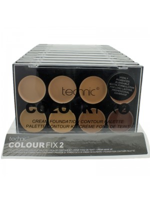 Technic Colour Fix Foundation Contour Palette