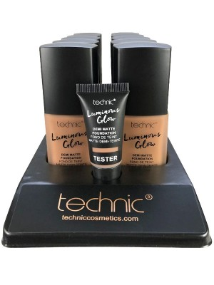 Technic Luminous Glow Demi Matte Foundation - Chestnut