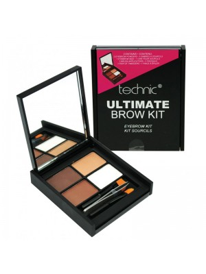 Technic Ultimate Brow Kit  - 18 pieces