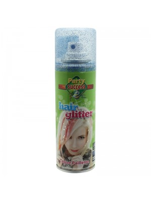 Temporary Glitter Hair Spray - Blue 125ml