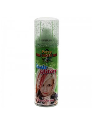 Temporary Hair Glitter Spray - Green 125ml
