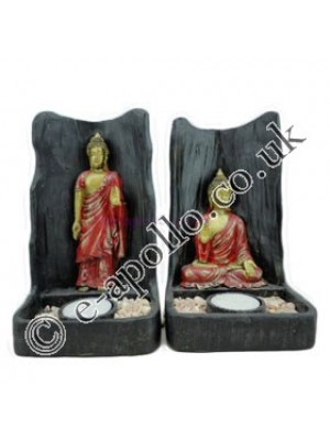 Thai Buddha Meditating Candle Holder