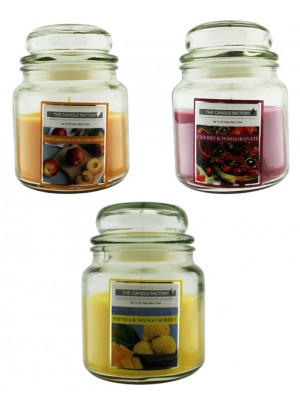 The Candle Factory Candles 425g(15oz) - Assorted Scents