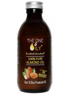 The One & Oily 100% Pure Almond Oil-200ml