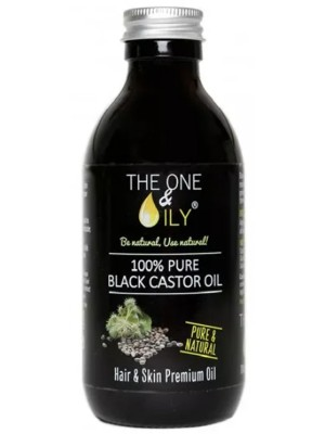 The One &Oily 100% Pure Black Castor Oil-200ml