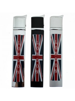 Thin Pocket Gas Lighters- Union Jack