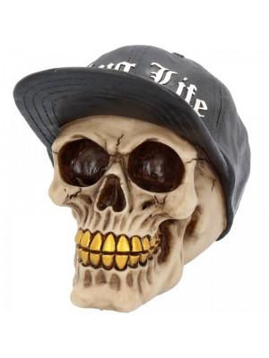Wholesale Thug Life Skull Figurine