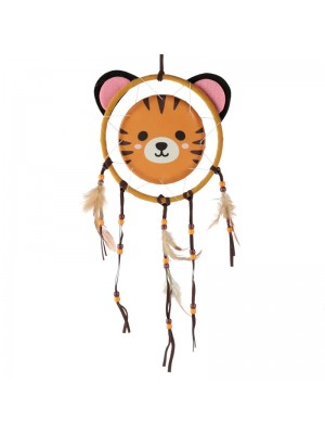 Wholesale Cutiemals Tiger Dreamcatcher - 16 cm