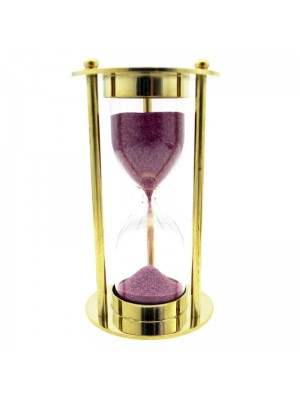 Wholesale Brass Sand Timer Hourglass - 3 minutes