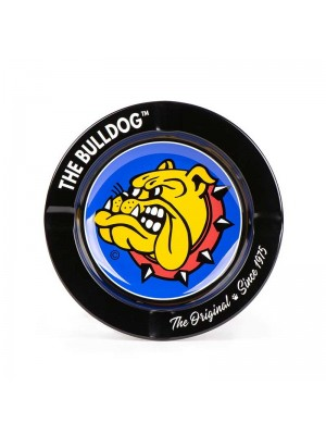 Wholesale The Bulldog Metal Ashtray - 14cm (Assorted Colours)