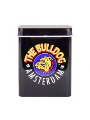 The Bulldog Metal Storage Tin-Black