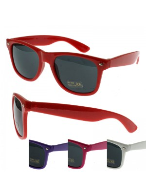 Tinted Wayfarer Sunglasses - Assorted Colours