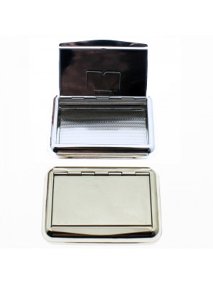 Wholesale Box- Plain Silver ( 9.5 x 6.5 cm)