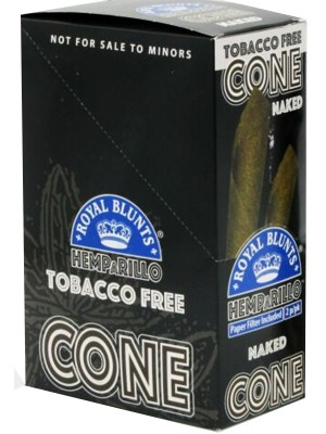 Royal Blunts Tobacco Free Cone - Naked