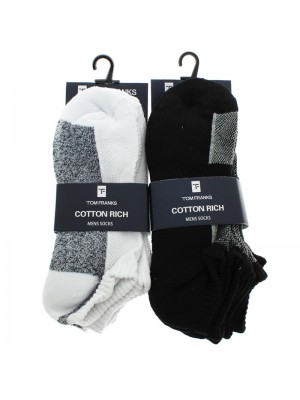 Tom Franks Cotton Rich Socks - Assorted Colours