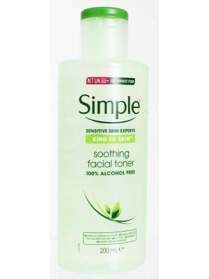 Wholesale Simple Soothing Facial Toner-200ml