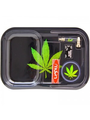 Wholesale Green Leaf Gift Tray Set
