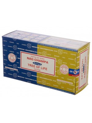 Wholesale Satya incense sticks - Nag Champa & Tree Of Life