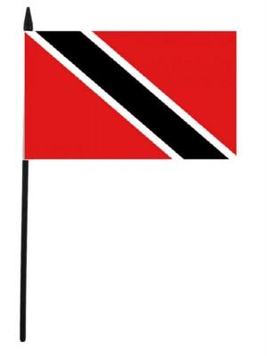 """Trinidad and Tobago Hand Flag - 12"""" x 18"""""""