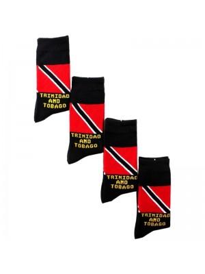 Rasta Design Socks - Trinidad & Tobago Flag