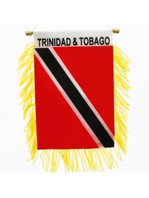 Trinidad & Tobago Mini Banner Flag - 10cm x 13cm