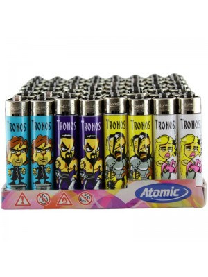 Wholesale Atomic Tronos Design Festival Flint Lighters - Assorted