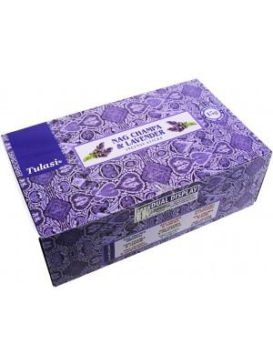 Tulasi Incense Sticks - Nag Champa & Lavender