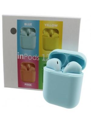Wholesale TWS inPods 12 Wireless Earbuds - Sky Blue