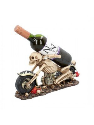 Wholesale Death Ride Guzzler Wine Holder - 18.9cm