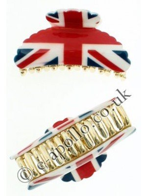 Union Jack Print Clamps