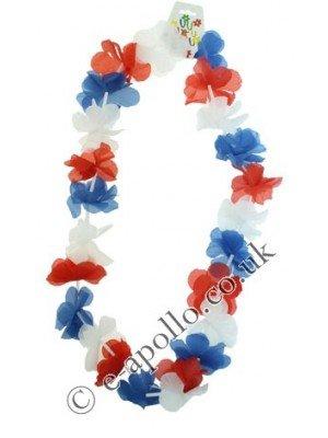 Union Jack Flower Garland