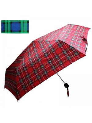 Wholesale Classic Royal Stewart Tartan Design Unisex Umbrella - Asst. Designs