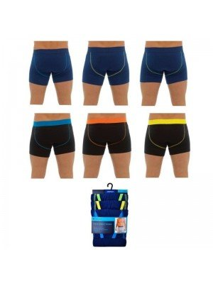 Wholesale Mens Tom Franks 3 Pack A-Front Trunks -Assorted Colours & Sizes