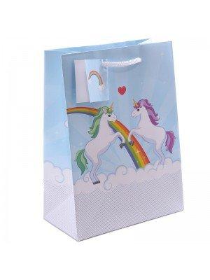 Unicorn Design Gift Bags (17x23x9cm)