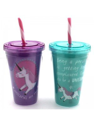 Unicorn-Drinking-Cups-Assorted-Colours-79006