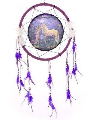 Unicorn Garden Dreamcatcher 33cm