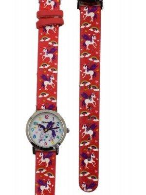 Ravel Girls Unicorn Design Watch- Pink