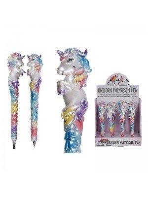 Wholesale Unicorn Polyresin pen - Tray