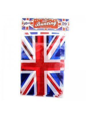 Wholesale Union Jack Flag Bunting - 10m