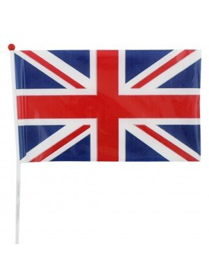"Wholesale Union Jack Hand Flag - 8"" x 12"""