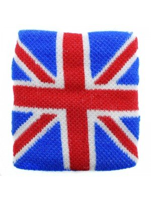 Union Jack Wrist Sweatbands
