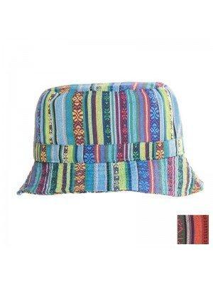 Unisex Aztec Bucket Hat - Assorted Colours