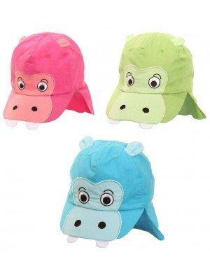 Unisex Children Hippo Legionnaire Cap - Assorted Colour & Sizes