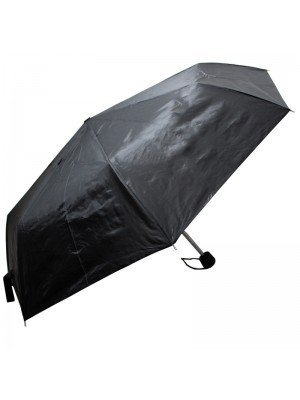 Unisex Compact Umbrella - Black