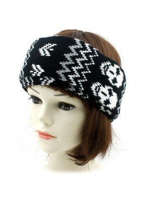 Unisex 2-in-1 Neck Warmer - Skulls Design (Assorted Colours)