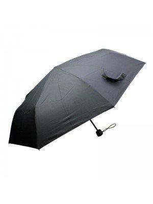 Wholesale Unisex Black Compact Umbrellas