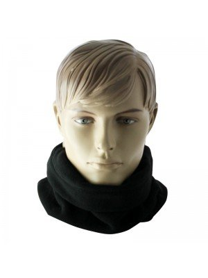 Unisex Fleece Neck Warmer - Black