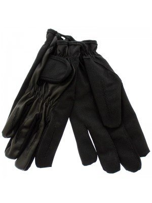 Unisex Leather & Spandex Driving / Bikers Gloves
