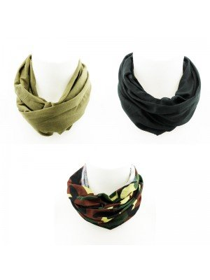 Unisex Multi-Functional Neck Warmer